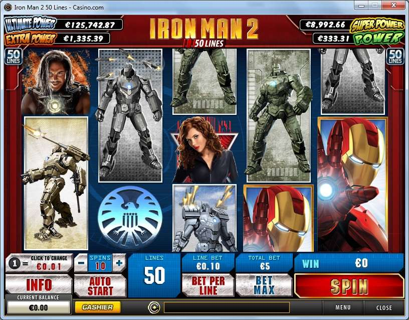 Game Review Iron Man 2 - 50 Lines