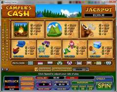 Game Review Camper's Cash