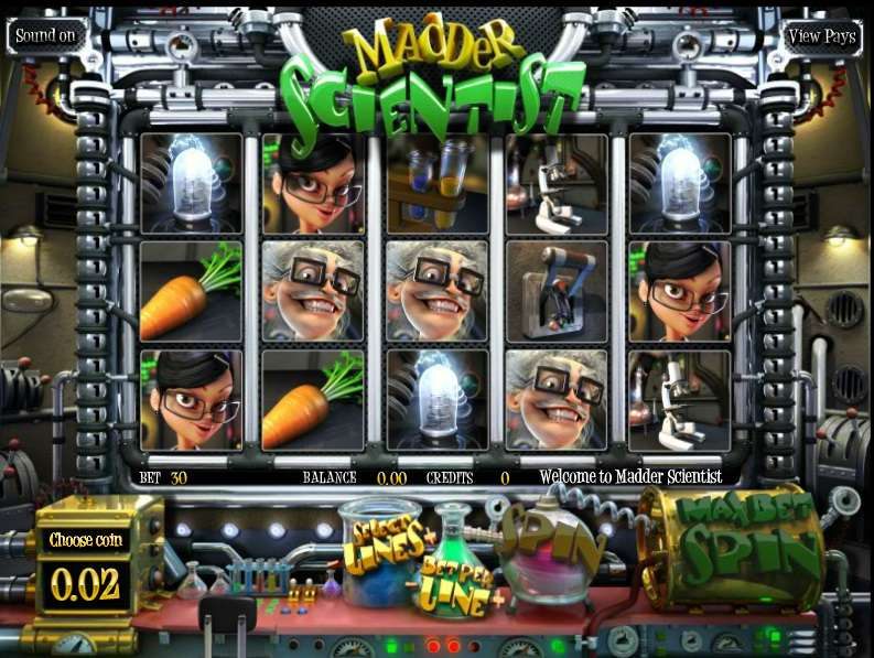 Game Review Madder Scientist