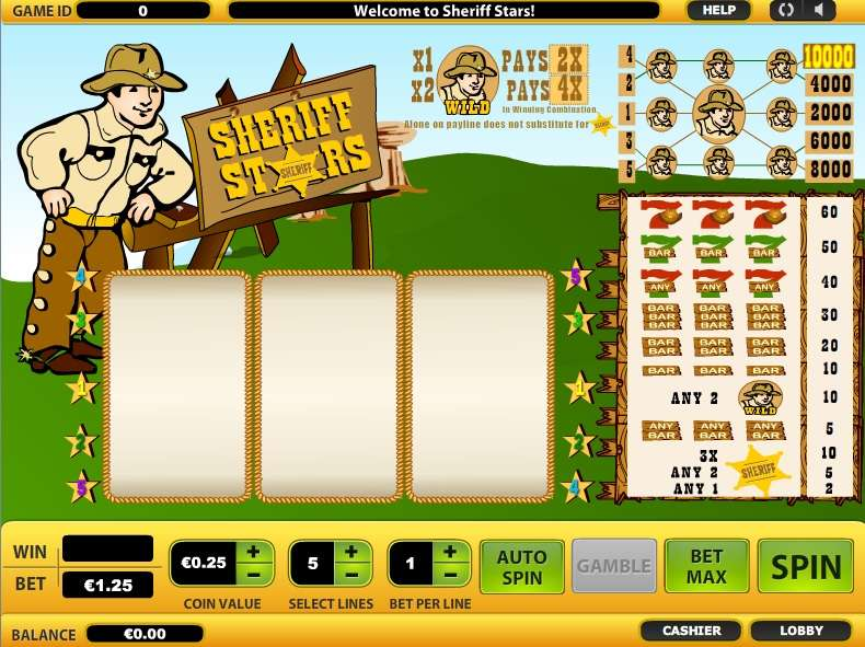 Game Review Sheriff Stars