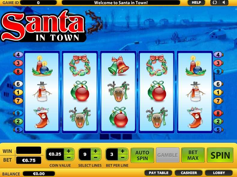 Game Review Santa in Town
