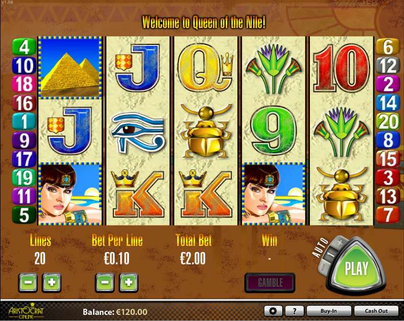 Game Review Queen of the Nile