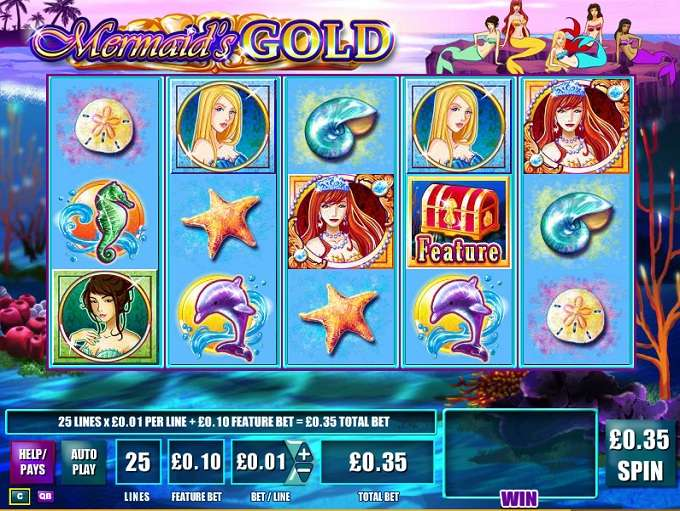 Game Review Mermaid's Gold