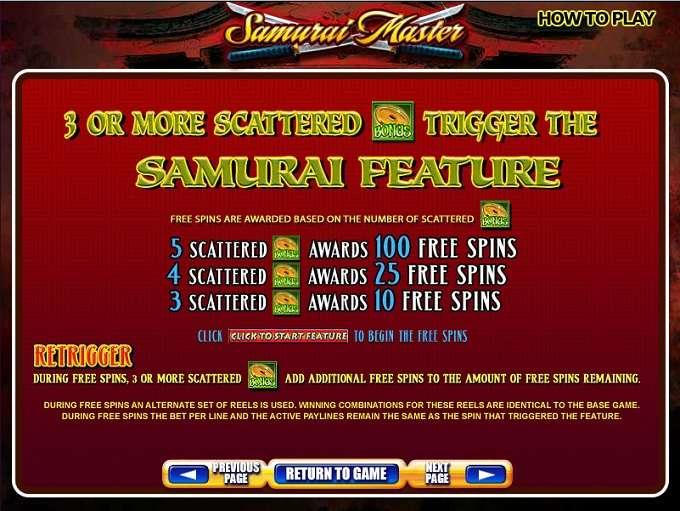 Game Review Samurai Master