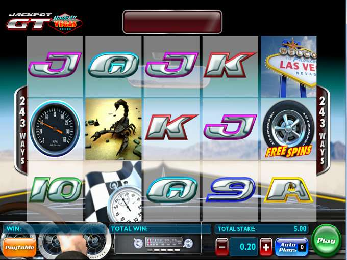 Game Review Jackpot GT 'Race to Vegas