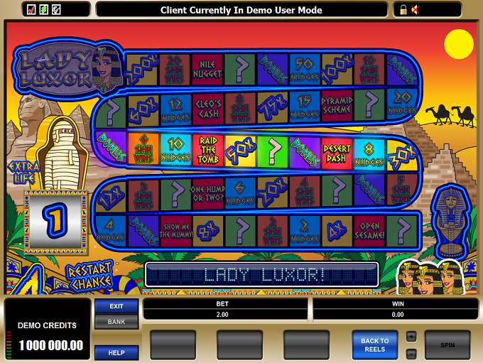 Game Review Lady Luxor