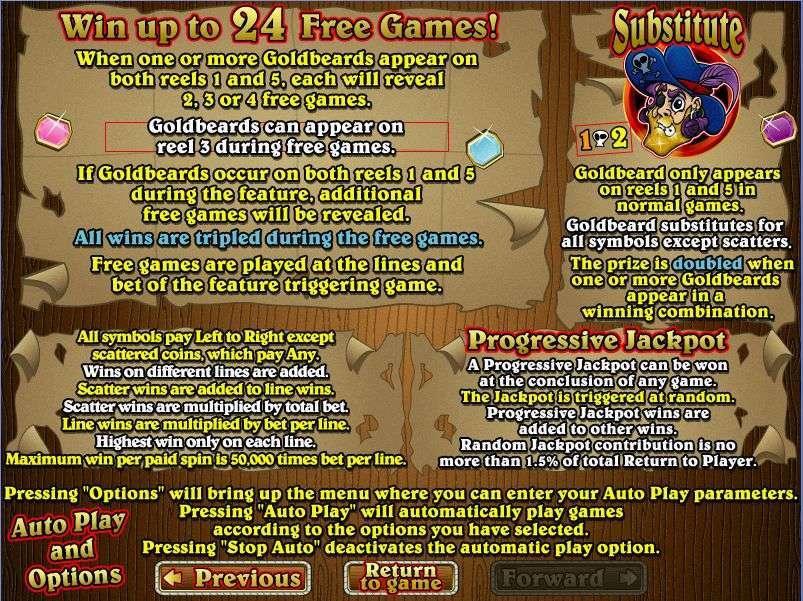 Game Review Goldbeard