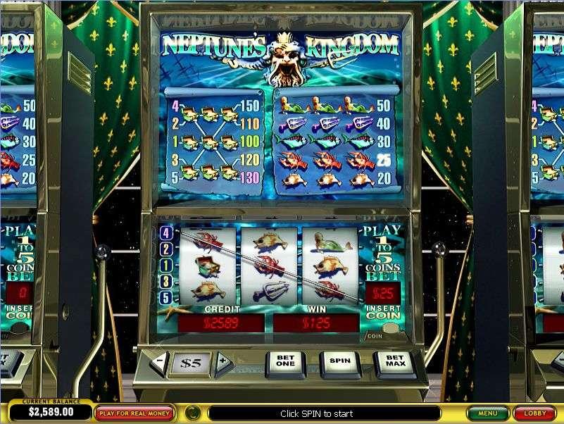 Game Review Neptune's Kingdom Slot