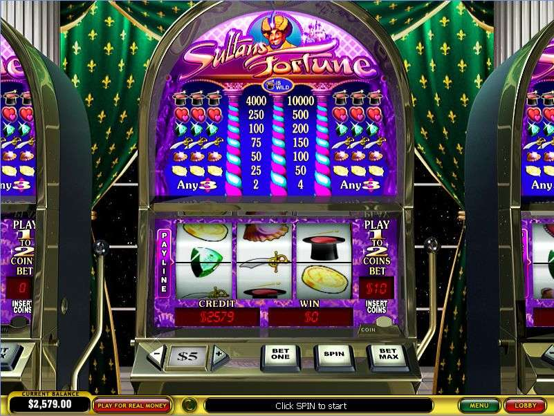 Game Review Sultan's Fortune Slot