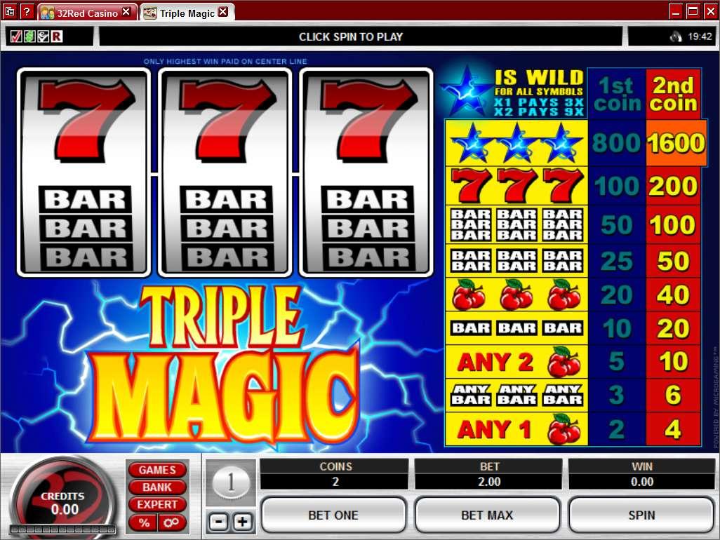 Game Review Triple Magic