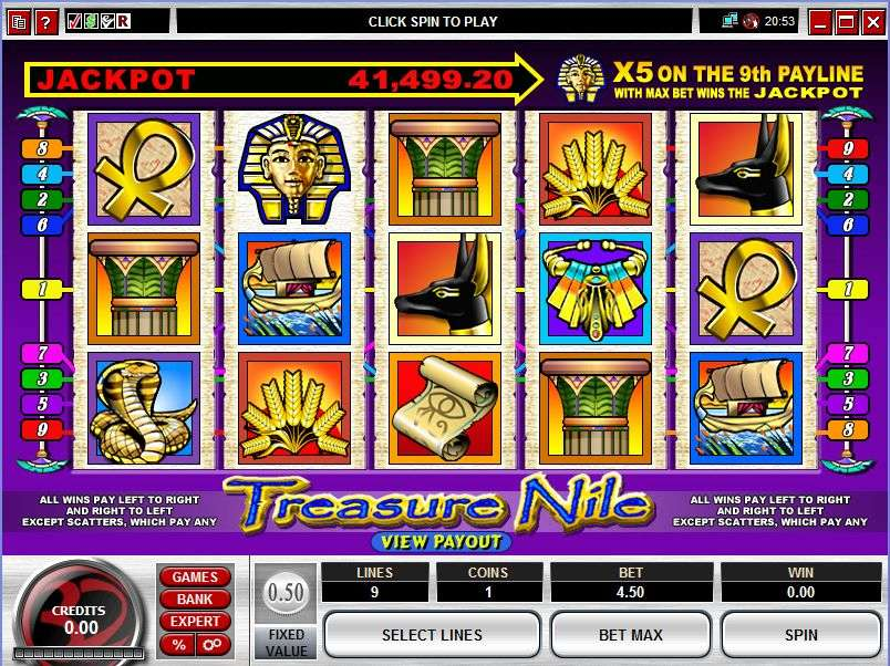 Game Review Treasure Nile