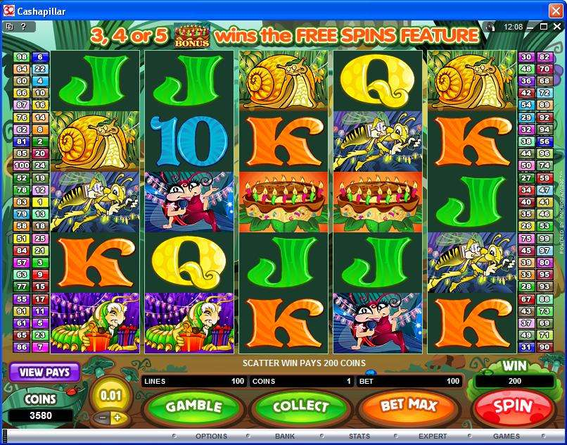 Game Review Cashapillar