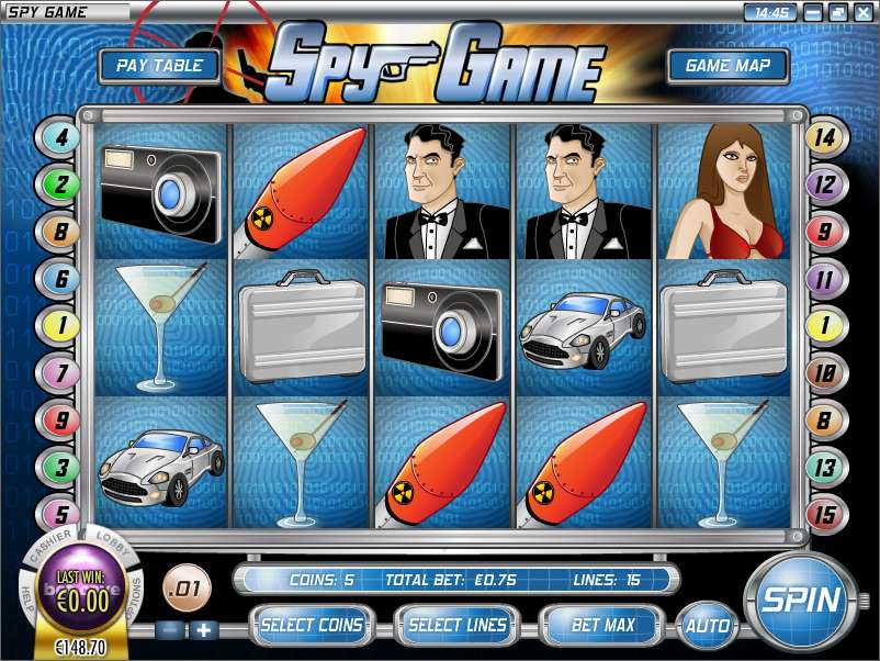 Game Review Spy Game