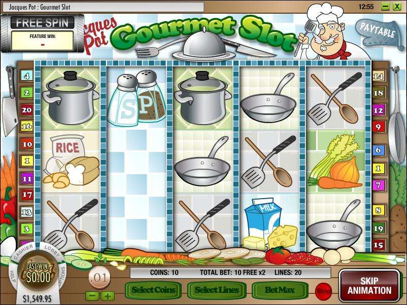 Game Review Jacques Pot - Gourmet Slot
