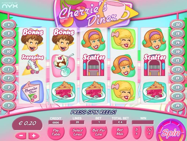 Game Review Cherries Diner