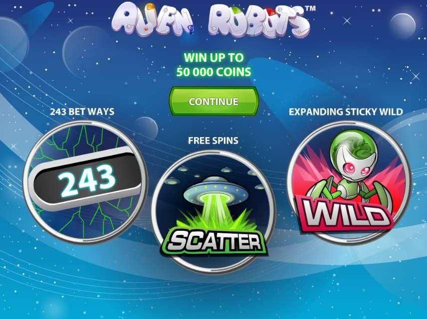 Game Review Alien Robots