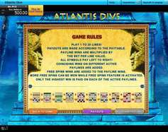 Game Review Atlantis Dive