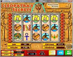 Game Review Cleopatra's Secrets
