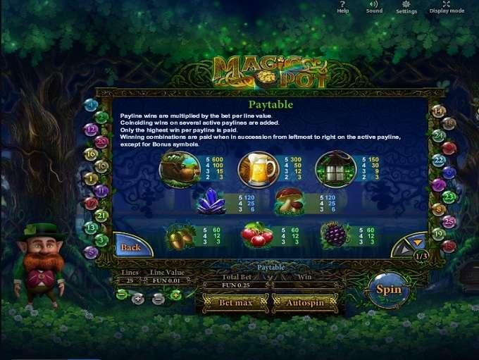 Game Review Magic Pot