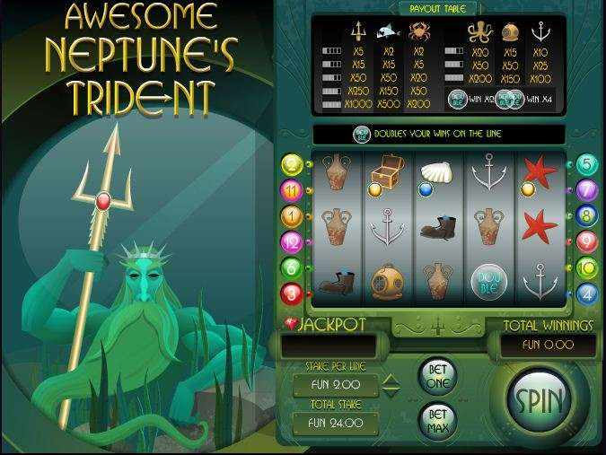Game Review Awesome Neptune's Trident