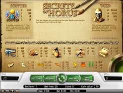 Game Review Secrets of Horus