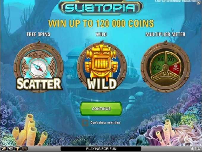 Game Review Subtopia