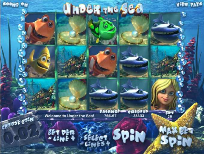 Game Review Under the Sea