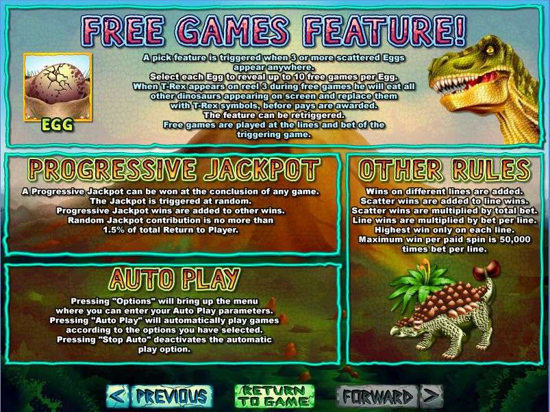 Game Review T-Rex