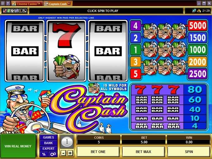 Game Review Captain Cash