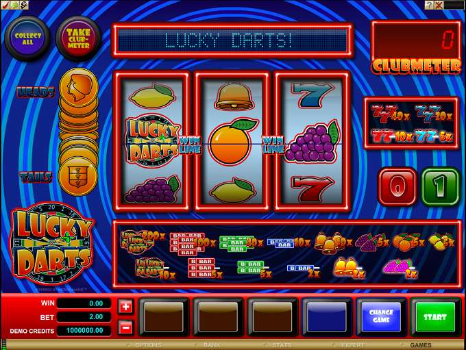 Game Review Lucky Darts