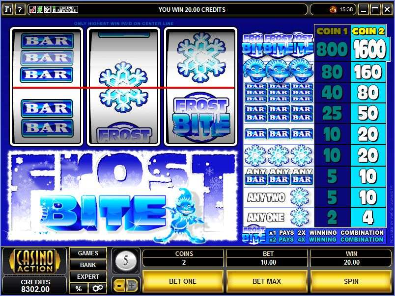 Frost Bite Slot Review & Free Instant Play Casino Game