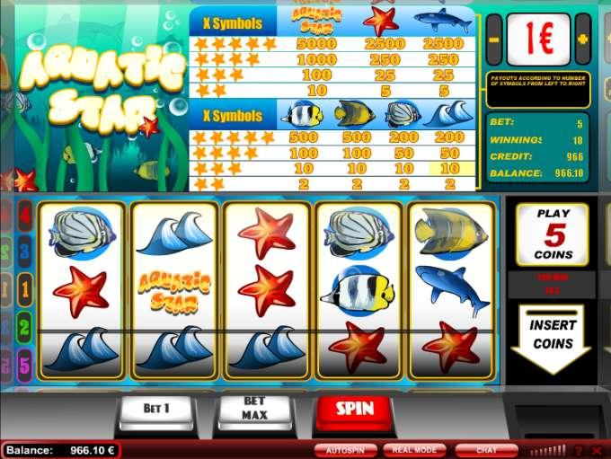 Game Review Aquatic Star