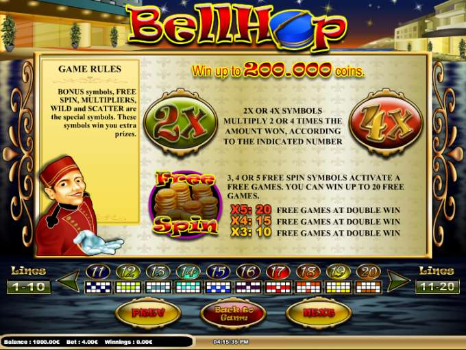 Game Review Bell Hop