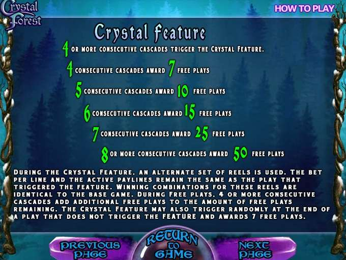 Game Review Crystal Forest