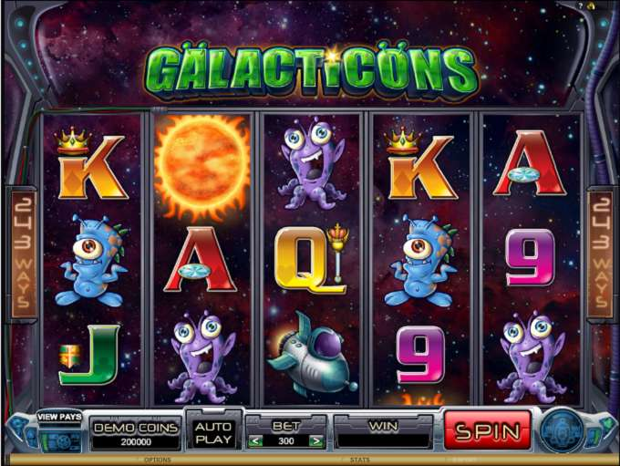 Game Review Galacticons