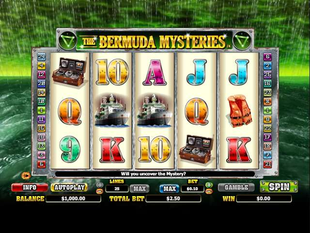 Game Review The Bermuda Mysteries