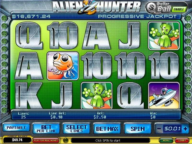 Game Review Alien Hunter