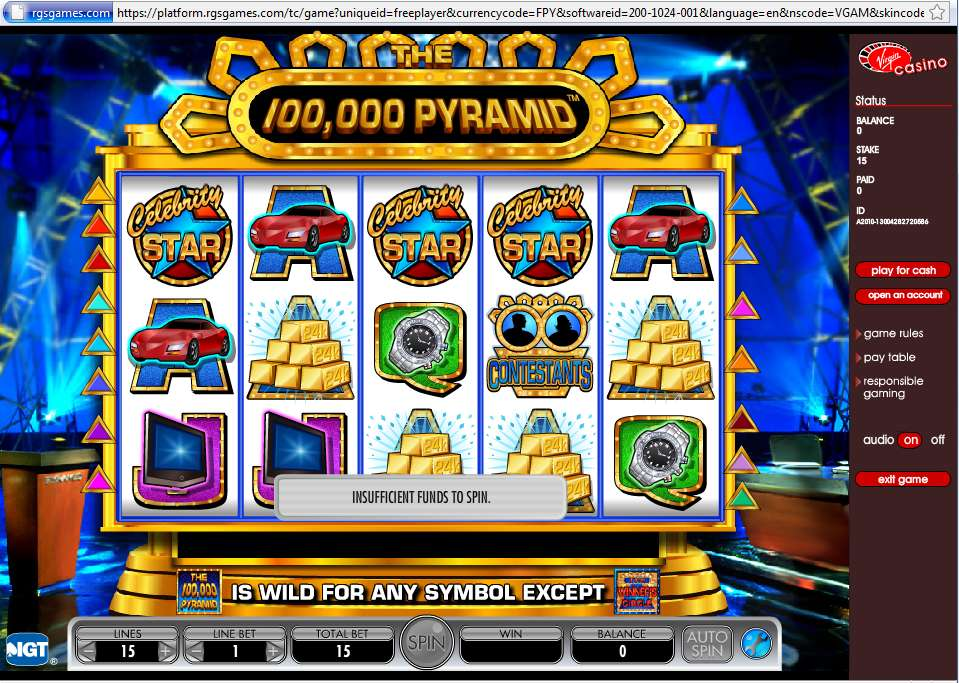 Game Review 100,000 Pyramid