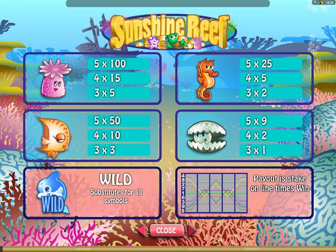 Game Review Sunshine Reef