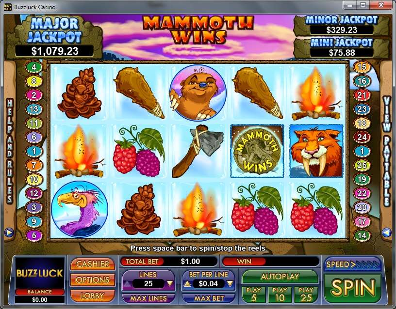 Game Review Mammoth Wins