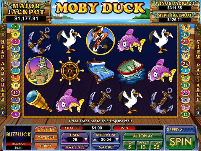 Game Review Moby Duck