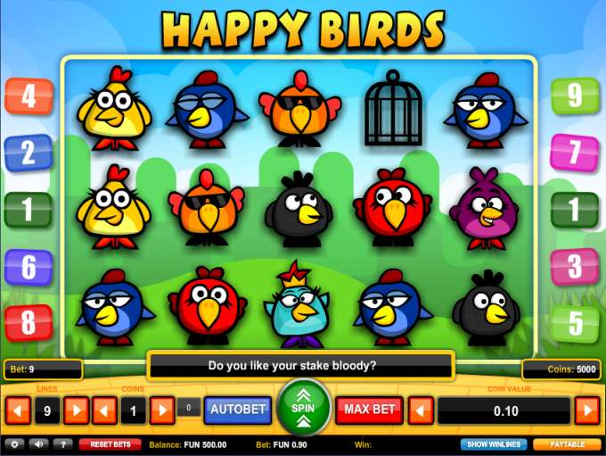 Game Review Happy Birds