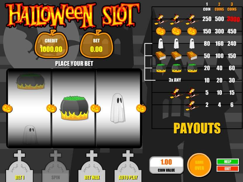 Game Review Halloween Slot