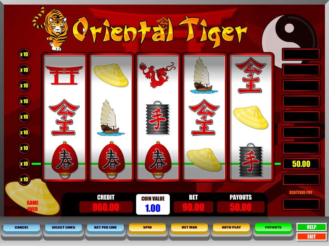 Game Review Oriental Tiger