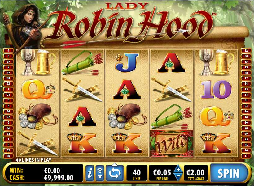 Game Review Lady Robin Hood