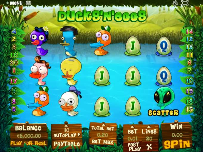 Game Review Ducks 'n Eggs