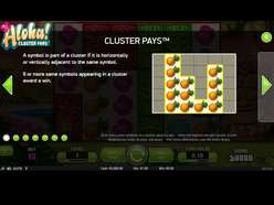 Game Review Aloha! Cluster Pays