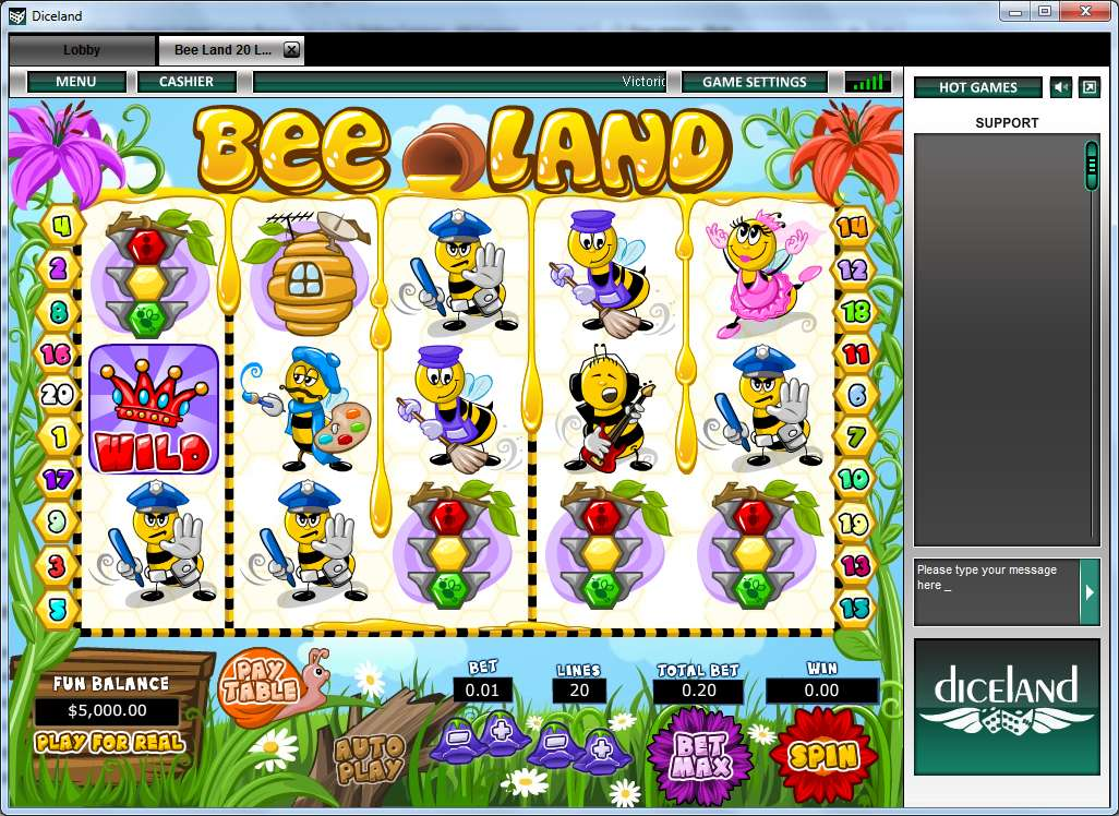 Game Review Bee Land