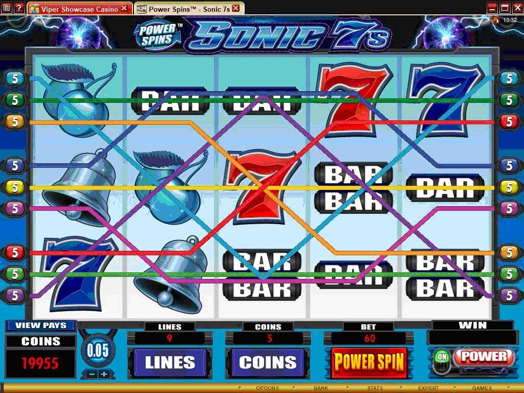 Game Review Power Spins – Sonic 7s