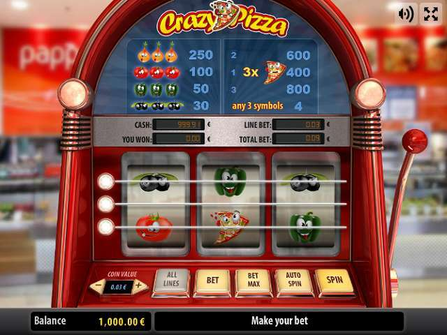 Game Review Crazy Pizza